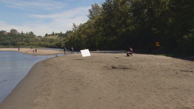Edmonton's hidden beach 2