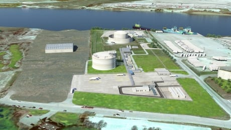 Tilbury LNG rendering expansion