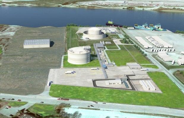Tilbury LNG rendering expansion