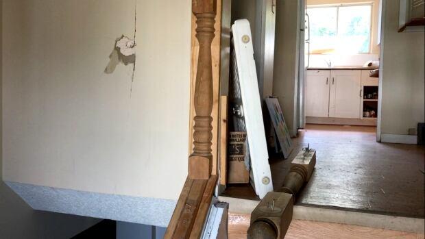 Calgary landlord damaged unit