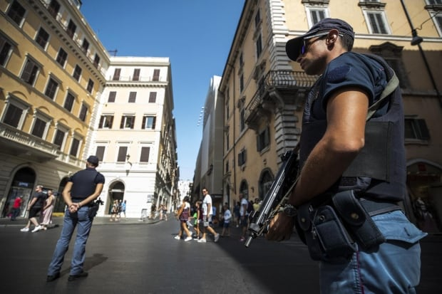 ITALY ANTI TERROR SECURITY