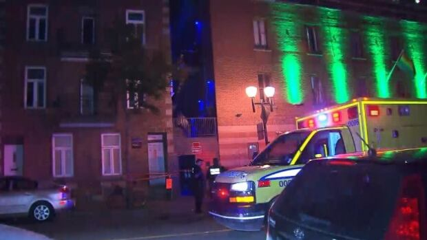 Witnesses have told police that just before 1 a.m., a 29-year-old man from California fell from the top of a building in the Gay Village. He is in critical condition in hospital.