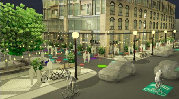 Queen street redesign