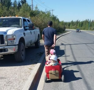 Vivian Yellowknife sidewalk petition