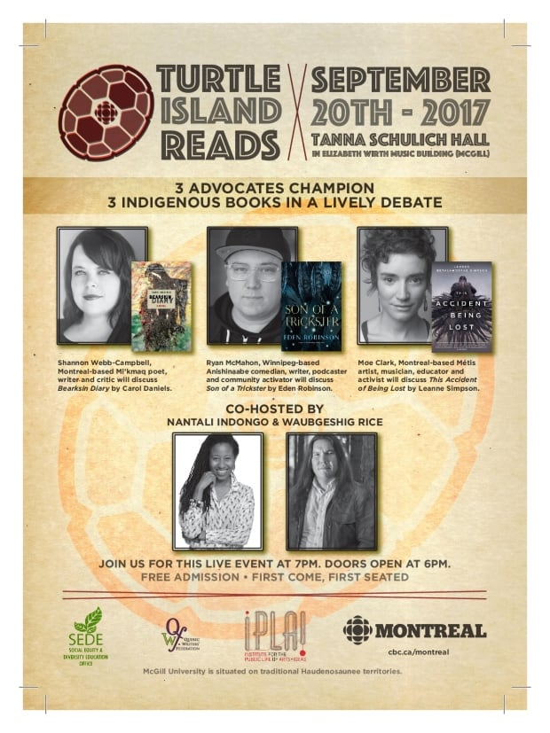 Turtle Island Reads 2017