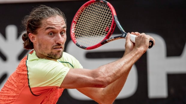 Ukraine's Alexandr Dolgopolov was beaten Sunday by lower-ranked Thiago Monteiro in a match that has raised suspicions because of heavy wagering.