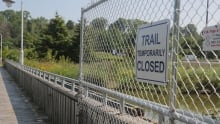 Trail fence open