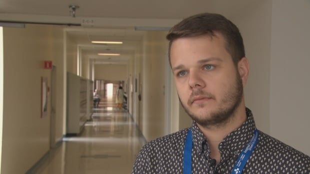 Ottawa Hospital Research assistant Maxime Charest said gay men face stigma when dealing with healthcare providers.