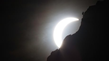 Eclipse near Calgary