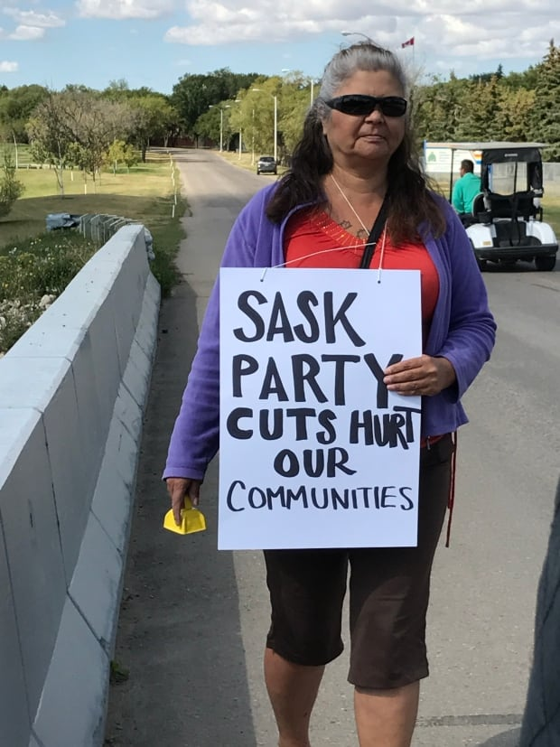 Sask Party fundraiser protest