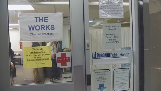 Toronto's first official safe-injection site is now open at The Works, near Yonge-Dundas Square.