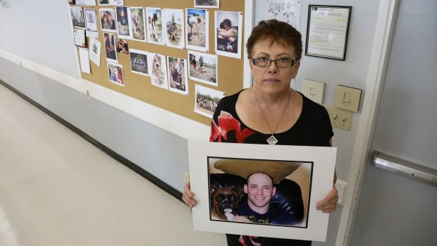 Mari-Lee Paluszak speaks openly about her son, Todd Chambers, who died of a fentanyl overdose in Fort McMurray in October 2016.