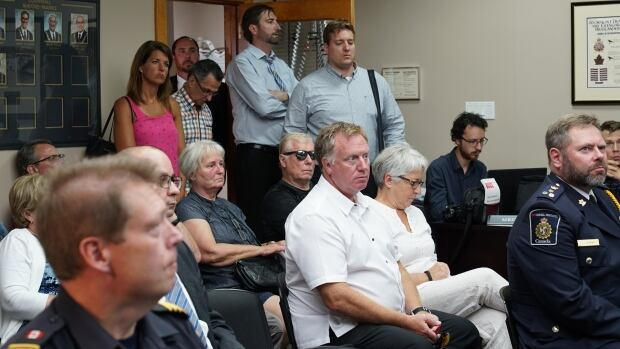 Cornwall residents packed into council chambers August 21, 2017