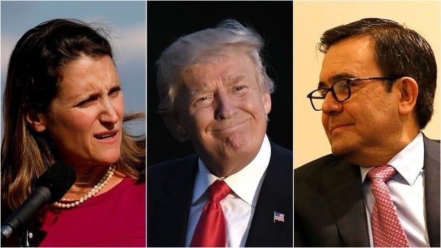 Donald Trump is the elephant in the room at NAFTA talks. His tough rhetoric seems to limit negotiation on the three-country trade deal. But a deal is possible, say experts.