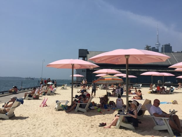 Sugar Beach Toronto-July18, 2015