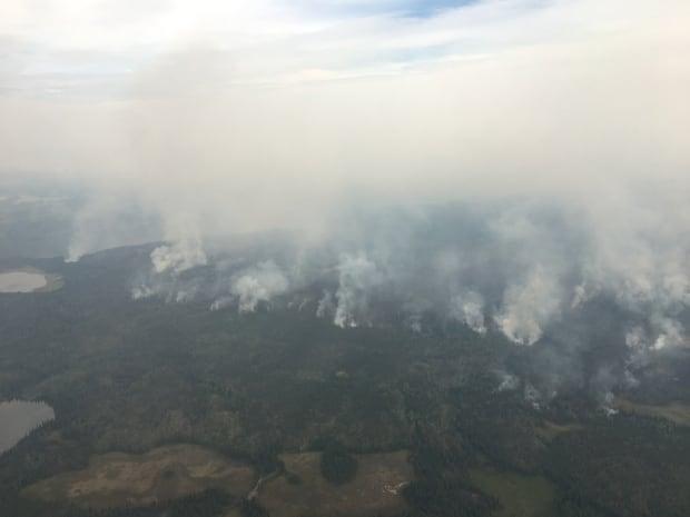 Plateau wildfire