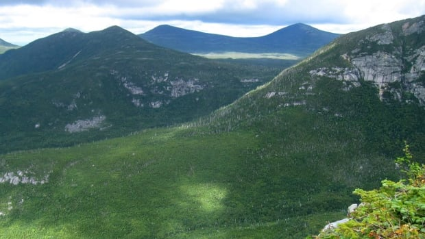 Mount Katahdin in Baxter State Park in Maine is shown in a 2014 file photo. The mountain is the northern terminus of the Appalachian Trail.