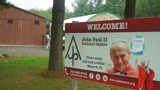 John Paul II Cultural Centre in Port Burwell, Ont., was ordered closed and all campers were sent home by Elgin St. Thomas Public Health officials because of a dispute with camp administrators over the camp's legal classification.