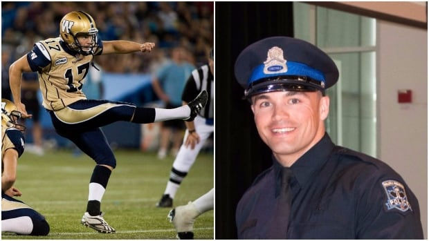 Justin Palardy spent parts of six seasons in the CFL. In June, he began a new career as a police officer with Halifax Regional Police.