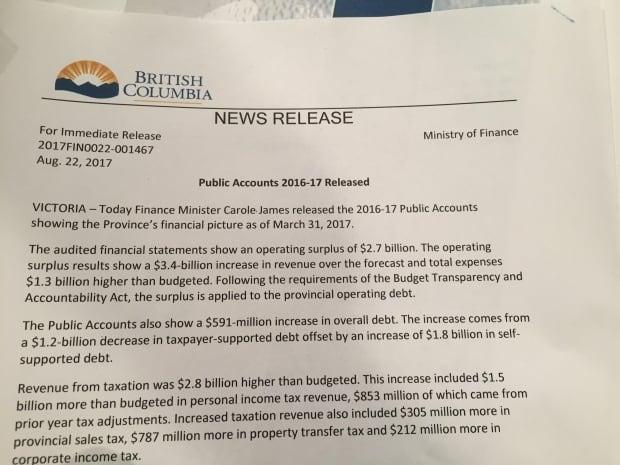 B.C. public accounts 2016-17