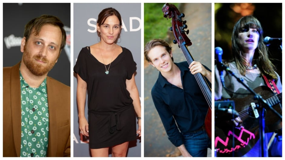 Musician Dan Auerbach, filmmaker Amy Jo Johnson, and musician Feist are featured on the Aug. 23 episode of q.
