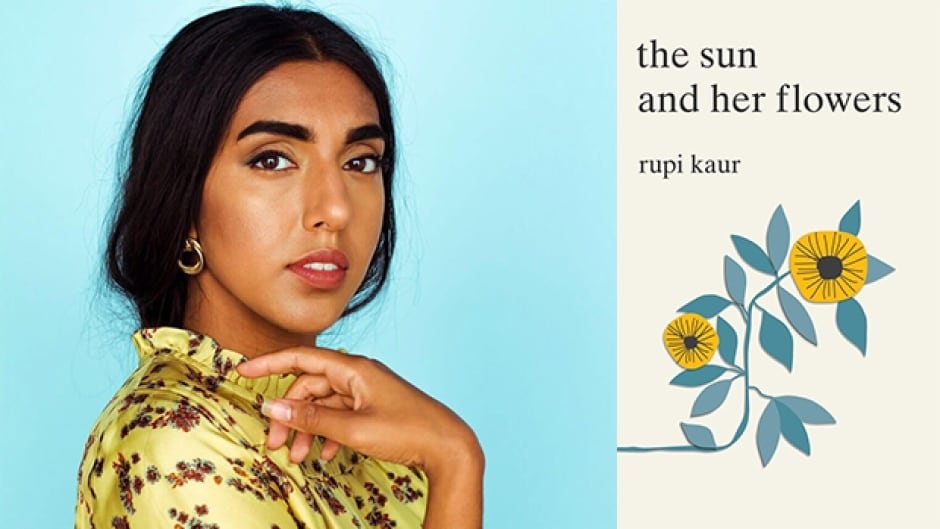 Rupi Kaur's poetry collection The Sun and Her Flowers is the follow-up to her bestseller milk and honey.