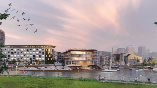 If proposed changes to King's Wharf are approved, this is what the development could look like.