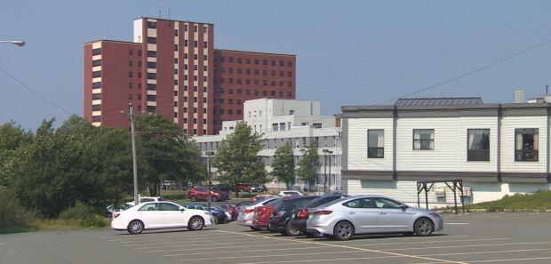 Miller centre parking lot
