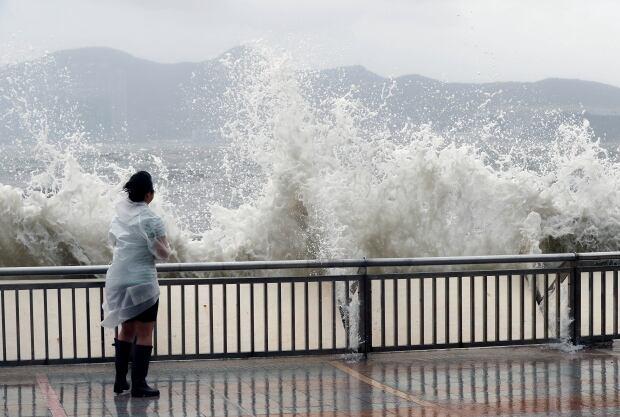 Hong Kong Typhoon Hato