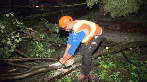 Cleanup underway in NDG after intense storm inflicts significant damage