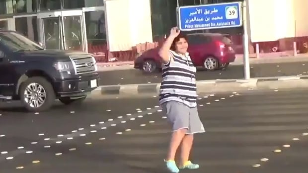 Police in Saudi Arabia arrested a 14-year-old boy who was filmed dancing to the '90s hit song Macarena at an intersection in the Red Sea city of Jeddah.