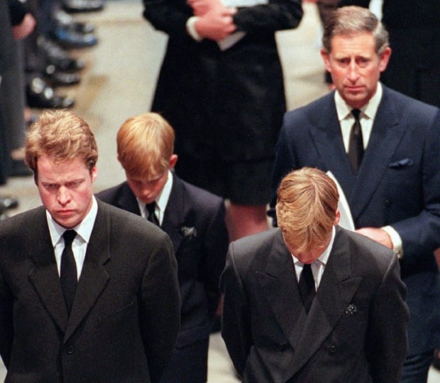 FUNERAL DIANA/SONS, CHARLES, BROTHER