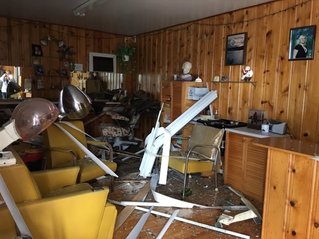Lachute damage tornado