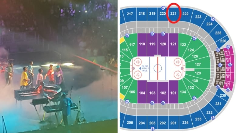 Ticketmast VIP seating complaint