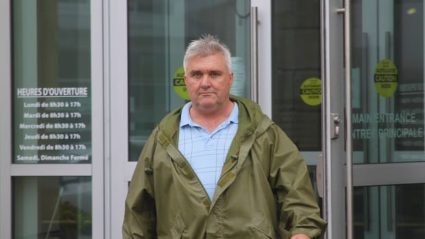 Eldon Hogan, 55, is changed with assault in connection with an incident on May 14  involving his neighbour, Paula Danaher, 43.