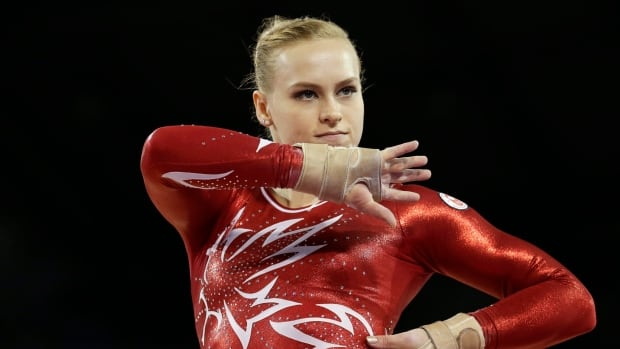 Canada's Ellie Black, pictured at the Pan Am Games in 2015, won gold and bronze Wednesday at the Summer Universiade in Taiwan.