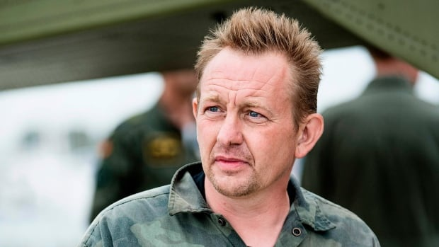 Peter Madsen, the builder and captain of the private submarine UC3 Nautilus, is pictured on Aug. 11 after his submarine sank outside Copenhagen harbour.