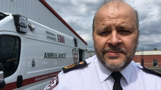 Jean-Pierre Savoie, operations manager for Ambulance New Brunswick, says target times are met 90 per cent of the time.