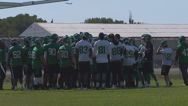 The Roughriders are preparing to face the Eskimos in Edmonton this Friday night.