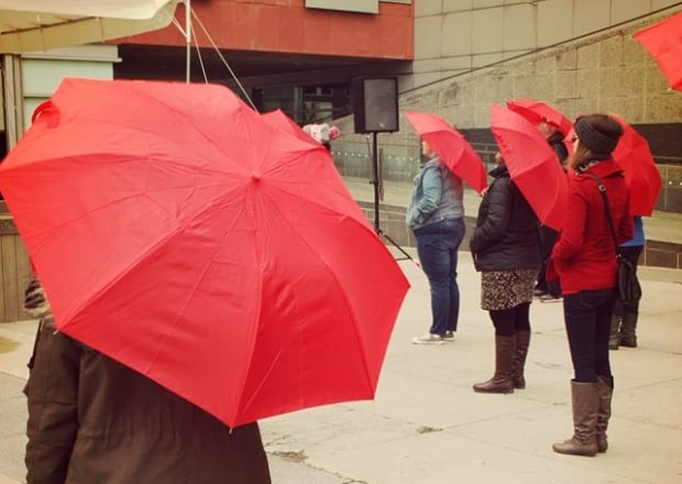 Sex workers action network red umbrella