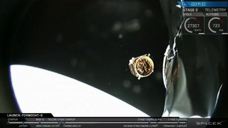 SpaceX satellite formosat