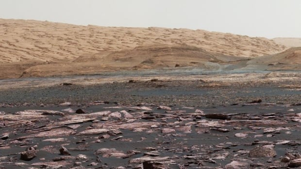 Mars isn't the dry, empty planet that some think it is. New research shows there is water and ice that could be used by humans.