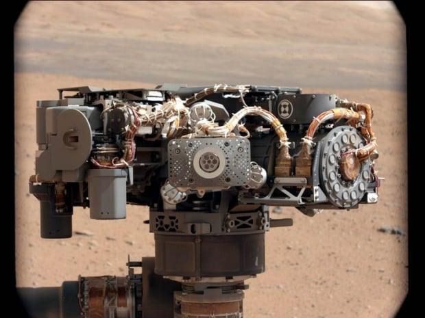 APXS instrument Curiosity Mars