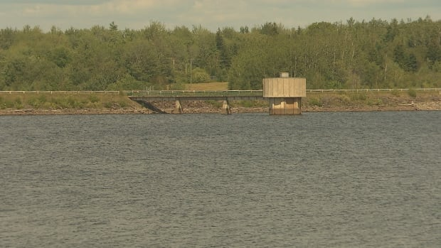 The Turtle Creek reservoir provides drinking water to 100,000 residents in the Greater Moncton area.