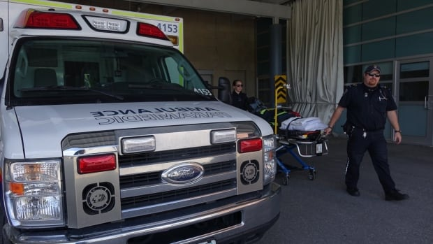 The Ontario government has legislated a target time of eight minutes for paramedics responding to a life-threatening situation.