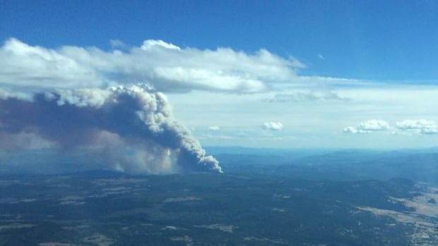 Evacuation order issued near Kelowna as new wildfire breaks out