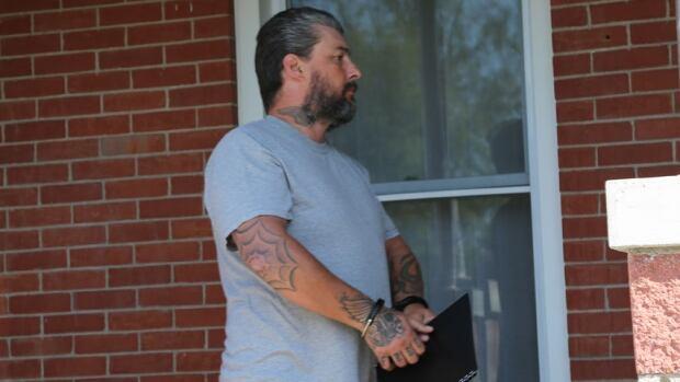 Robin Moulton, 48, of Fredericton, Hells Angels member