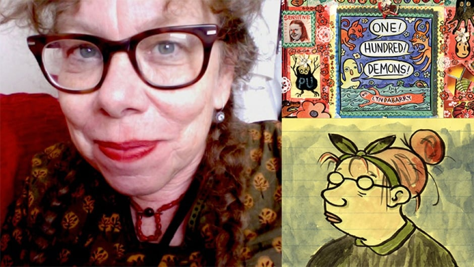 Cartoonist Lynda Barry created Ernie Pook's Comeek, a strip that ran for nearly three decades in 70 newspapers in the U.S. Her graphic memoir is called One! Hundred! Demons!