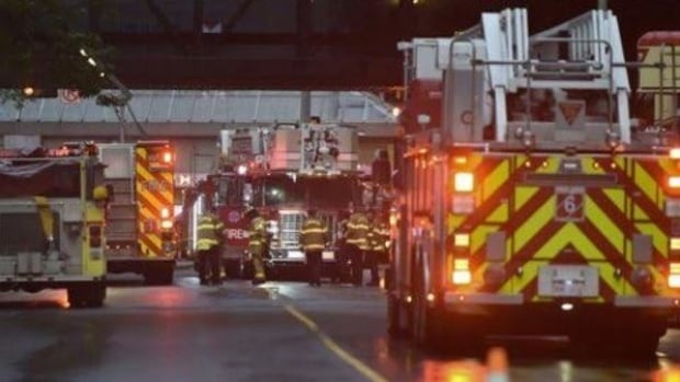 The City Centre Mall was evacuated Thursday after an electrical fire broke out in the loading dock.