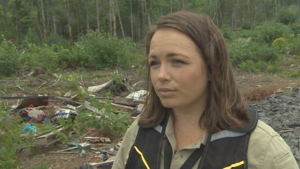 Angela Taylor says she's one of five enforcement officers in the province who can charge illegal dumpers under the Environment Act.